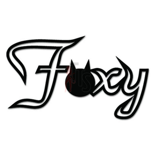 Foxy JDM Japanese Sticker - TipTopSIGNS