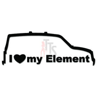 I Love My Element Japanese JDM Japanese Sticker - TipTopSIGNS