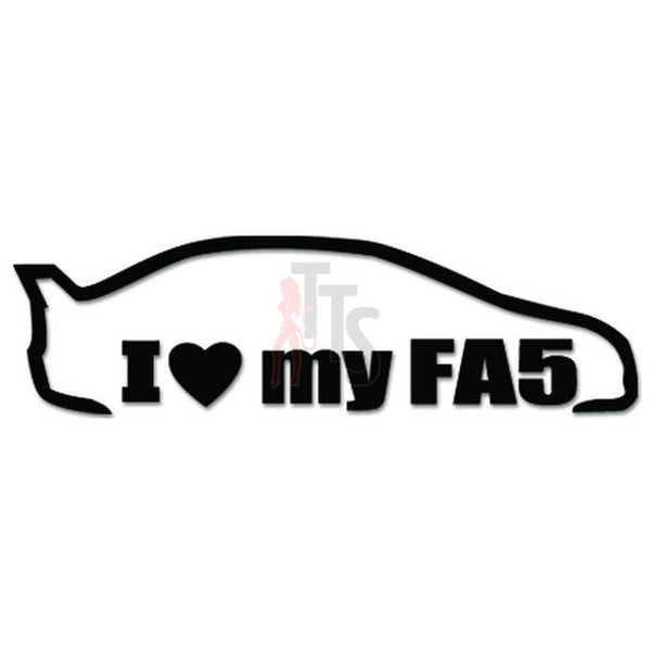 I Love My Honda FA5 JDM Japanese Sticker - TipTopSIGNS