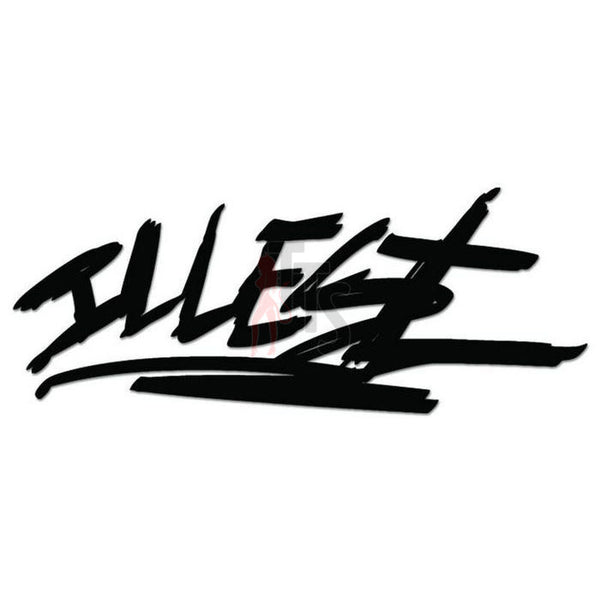 Illest JDM Japanese Sticker - TipTopSIGNS