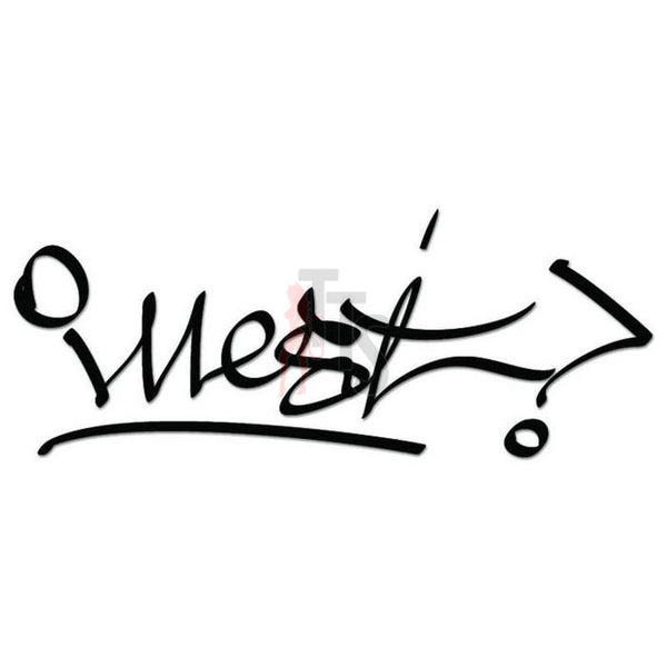 Illest West Coast JDM Japanese Sticker Style 1 - TipTopSIGNS