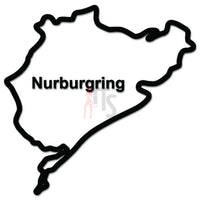 Nurburgring Race Track Germany JDM Japanese Sticker