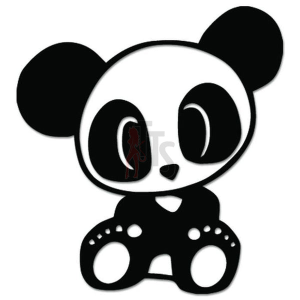 Cute Baby Panda Bear JDM Japanese Sticker
