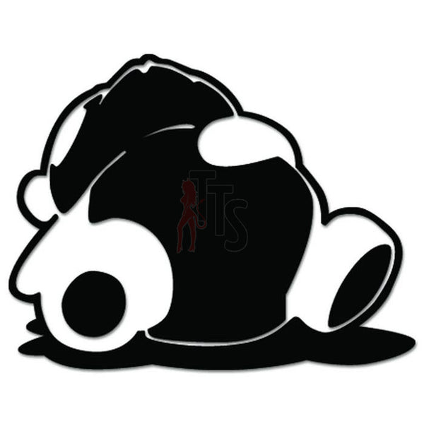 Panda Sleep JDM Japanese Sticker - TipTopSIGNS