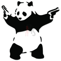Panda Bear Guns In Hand JDM Japanese Sticker