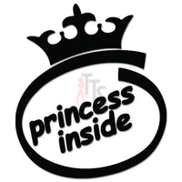 Princess Inside JDM Japanese Sticker