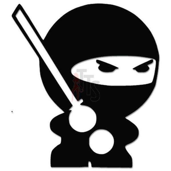 Protected By Ninja JDM Japanese Decal Sticker