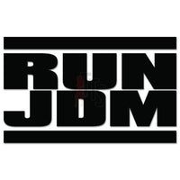 Run JDM Japanese Sticker - TipTopSIGNS