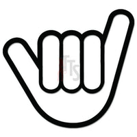 Shocker Hang Loose JDM Japanese Sticker