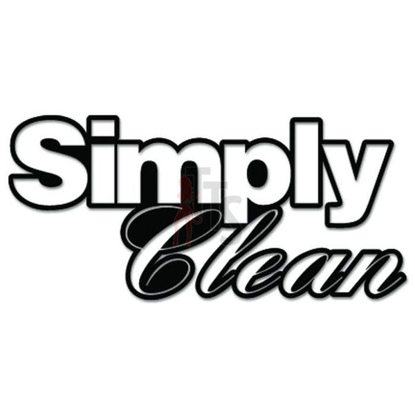 Simply Clean JDM Japanese Sticker Style 2 - TipTopSIGNS