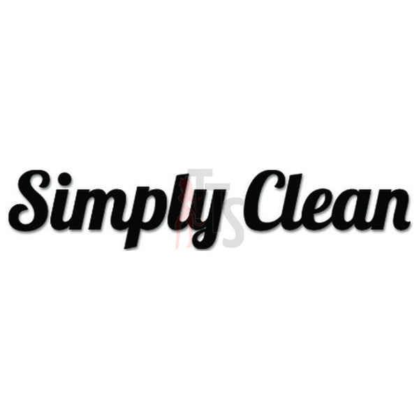 Simply Clean JDM Japanese Sticker Style 3 - TipTopSIGNS
