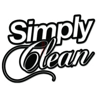 Simply Clean JDM Japanese Sticker Style 4 - TipTopSIGNS
