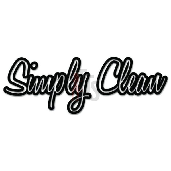 Simply Clean JDM Japanese Sticker Style 5 - TipTopSIGNS