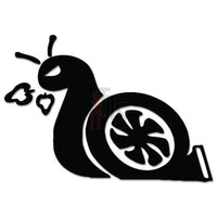 Turbo Snail Slow Funny JDM Japanese Sticker - TipTopSIGNS