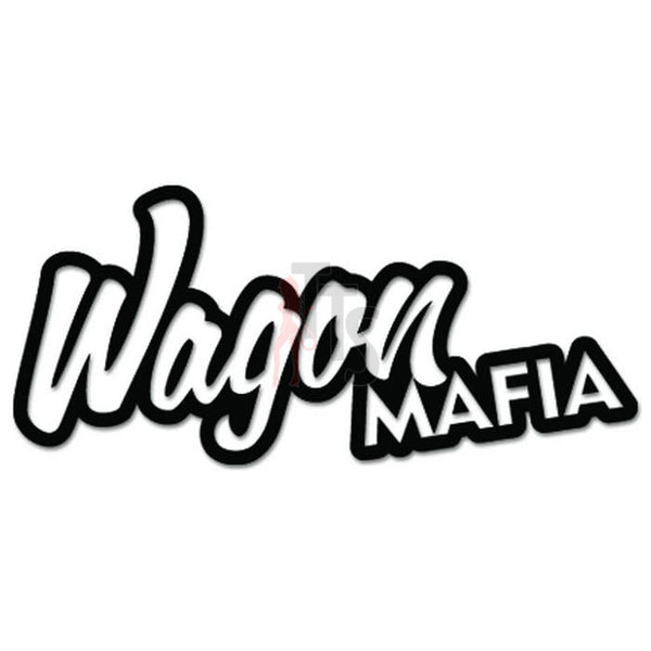 Wagon Mafia JDM Japanese Sticker