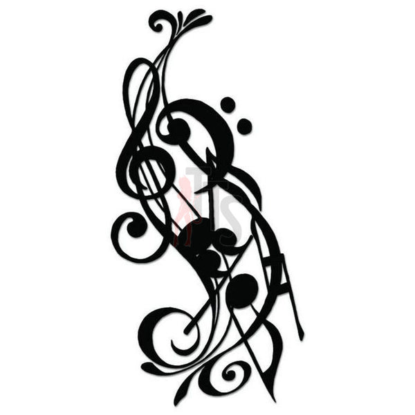 Music Note Symbol Decal Sticker