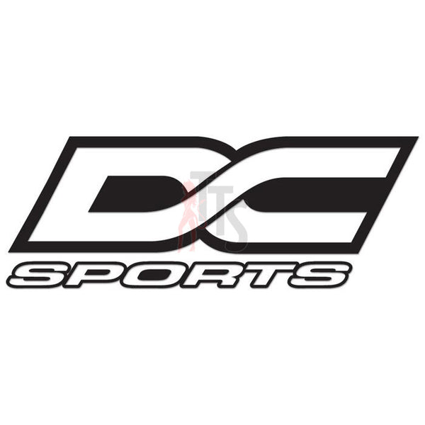 DC Sports Performance Racing Decal Sticker Style 1