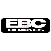EBC Brakes Performance Racing Decal Sticker Style 1