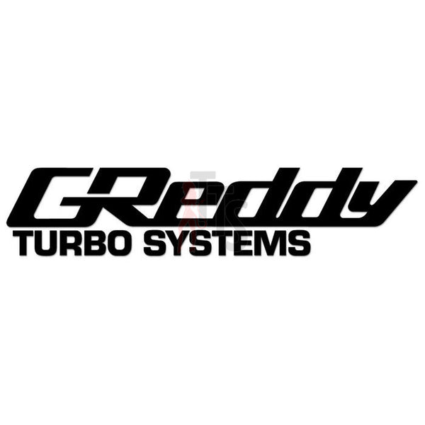Greddy Turbo System Performance Racing Decal Sticker
