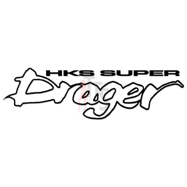 HKS Super Drager Performance Racing Decal Sticker