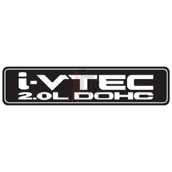 Honda i-VTEC Performance Racing Decal Sticker Style 1