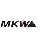 MKW Wheels Performance Racing Decal Sticker