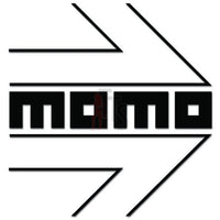 MOMO Performance Racing Decal Sticker Style 1