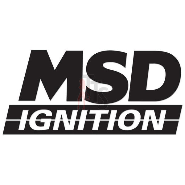 MSD Ignition Performance Racing Decal Sticker