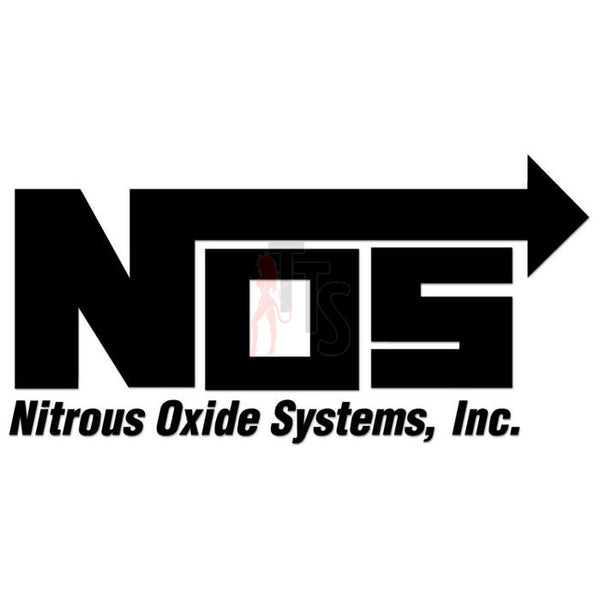 NOS Nitrous Oxide Performance Racing Decal Sticker Style 1