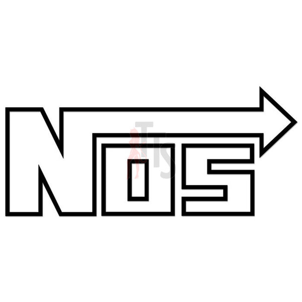NOS Nitrous Oxide Performance Racing Decal Sticker Style 2
