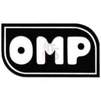 OMP Performance Racing Decal Sticker