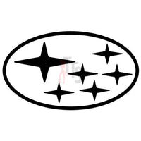 Subaru Logo Performance Racing Decal Sticker Style 1