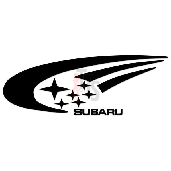 Subaru WRC Performance Racing Decal Sticker Style 1