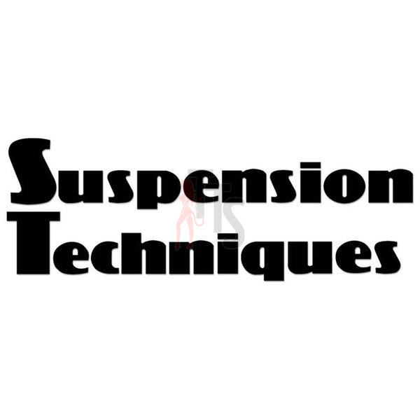 Suspension Techniques Performance Racing Decal Sticker Style 1
