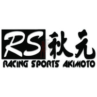 Akimoto Racing Sports Performance Racing Decal Sticker Style 1