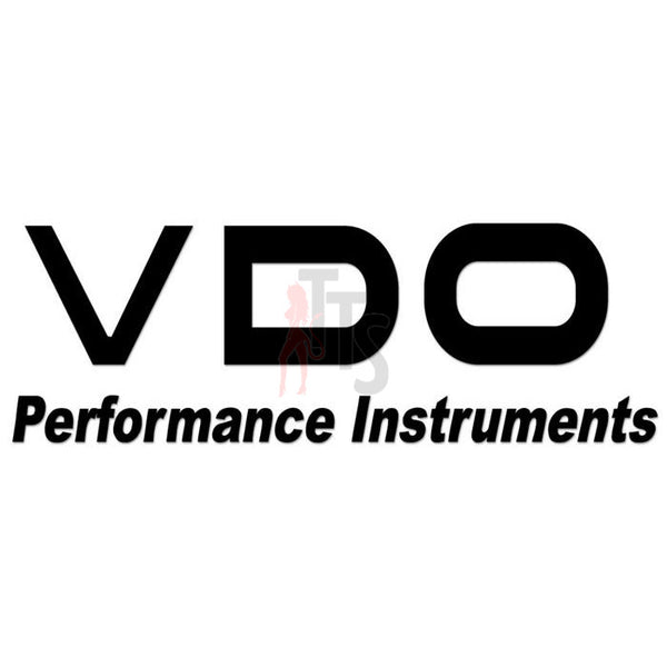 VDO Performance Racing Decal Sticker