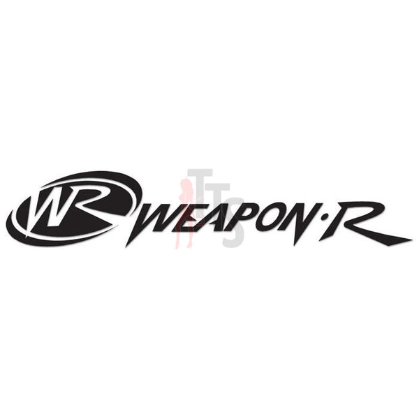 Weapon R Performance Racing Decal Sticker Style 1