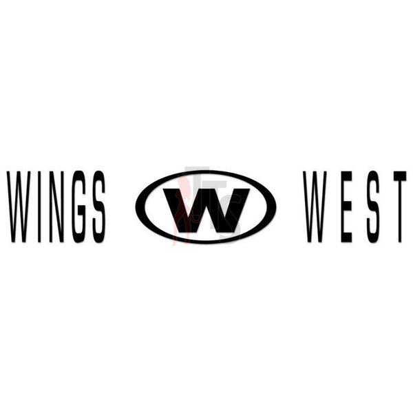 Wings West Performance Racing Decal Sticker Style 3