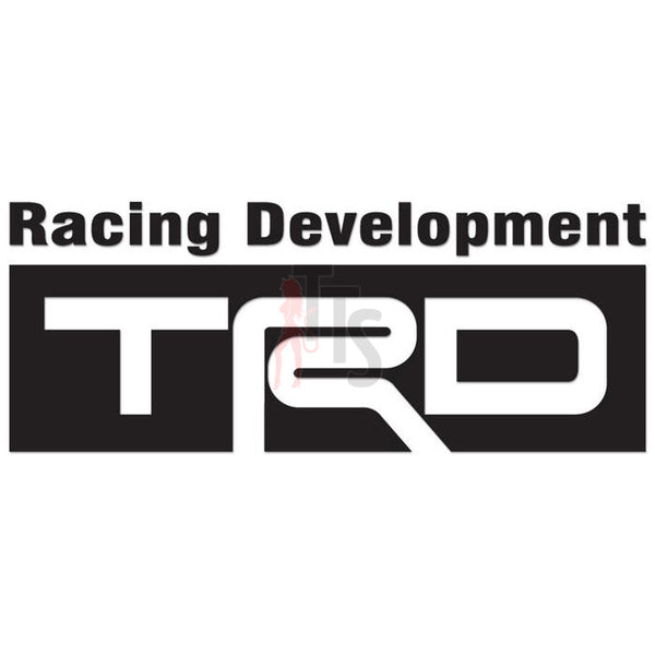 Toyota TRD Racing Development Performance Racing Decal Sticker
