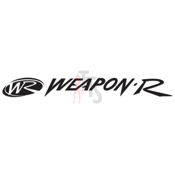 Weapon R Performance Racing Decal Sticker Style 2