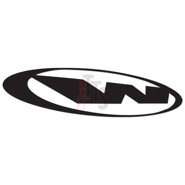 Wings West Performance Racing Decal Sticker Style 4