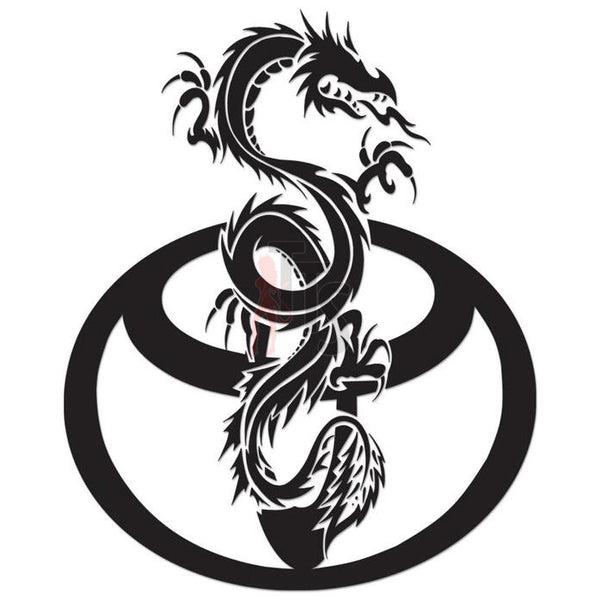 Toyota Dragon Performance Racing Decal Sticker