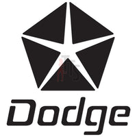 Dodge Performance Racing Decal Sticker Style 2