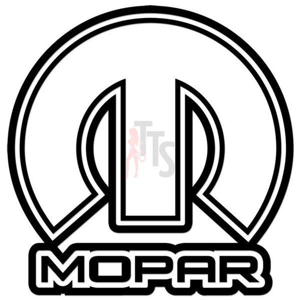 Mopar Performance Racing Decal Sticker Style 2