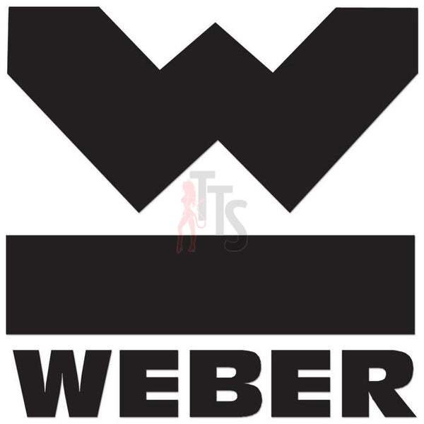 Weber Performance Racing Decal Sticker