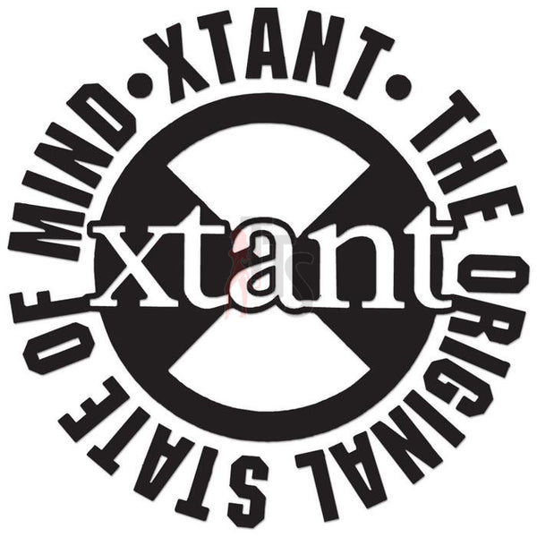 Xtant Performance Racing Decal Sticker