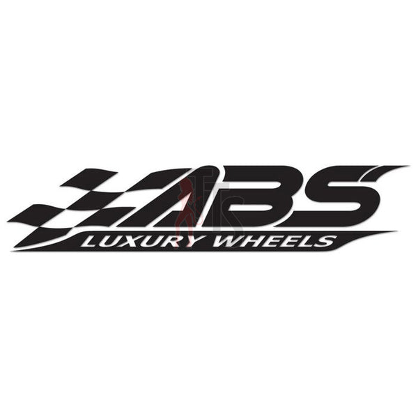 ABS Luxury Wheels Performance Racing Decal Sticker