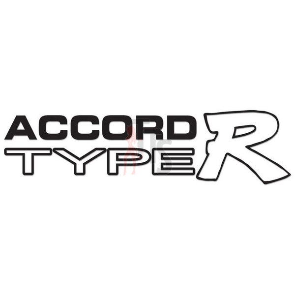 Honda Accord Type R Performance Racing Decal Sticker Style 1