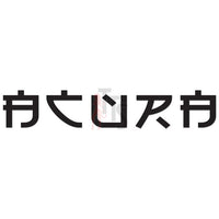 Honda Acura Chinese Character Performance Racing Decal Sticker