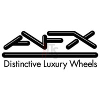 AFX Luxury Wheels Performance Racing Decal Sticker Style 1